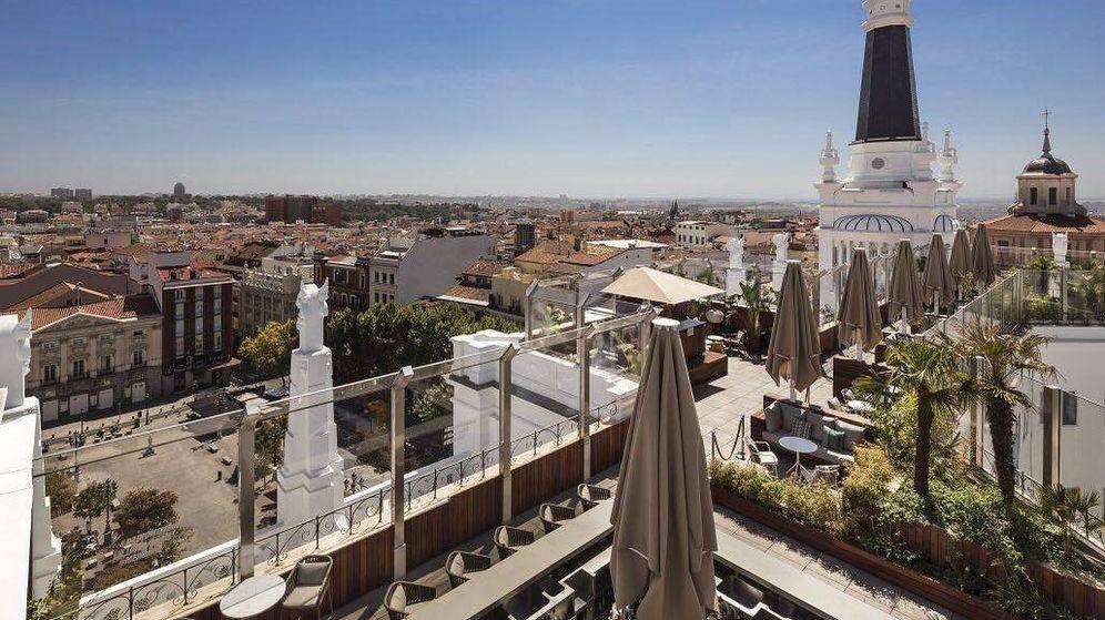 Foto: Vistas desde el rooftop del Me Madrid. (Cortesía)