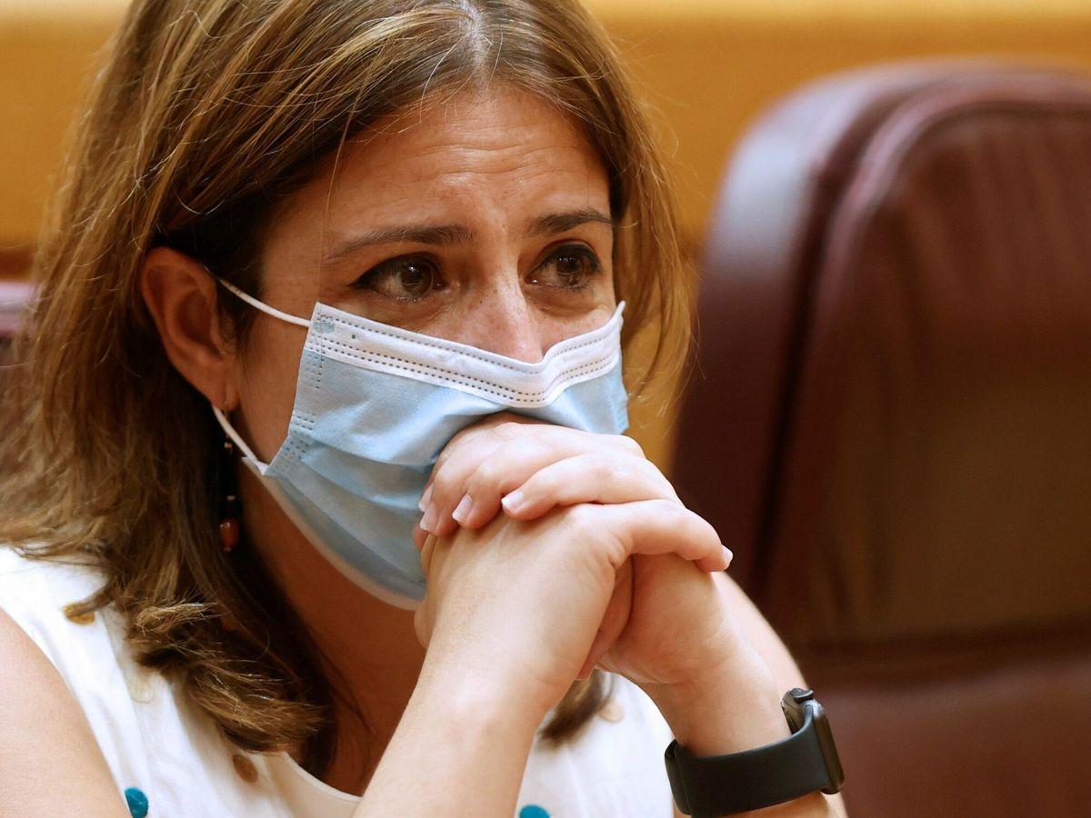 Foto: La vicesecretaria general del PSOE y portavoz del grupo socialista en el Congreso, Adriana Lastra. (EFE)
