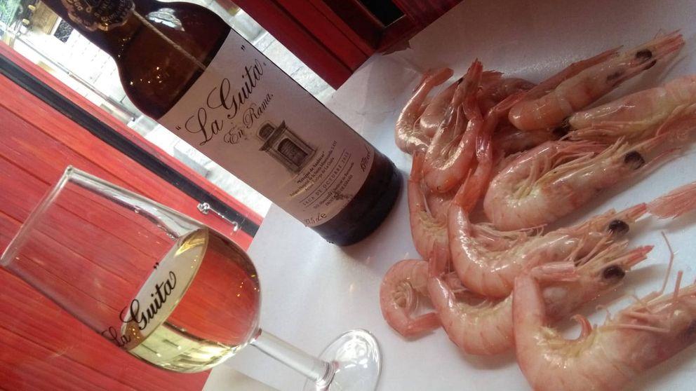 Flamenquito, la ruta del 'tardeo' de Madrid: gambas de Huelva, palmas y fiesta