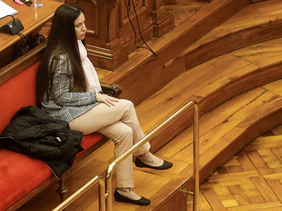 Foto: Rosa Peral, durante el juicio. Foto: Efe