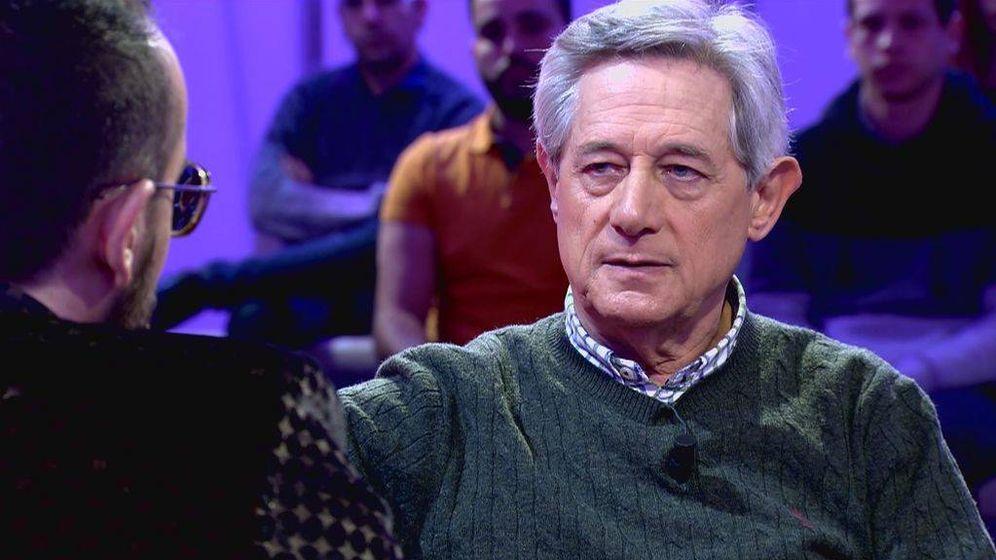 Foto: Josema Yuste, en el programa de Risto. (Cuatro).