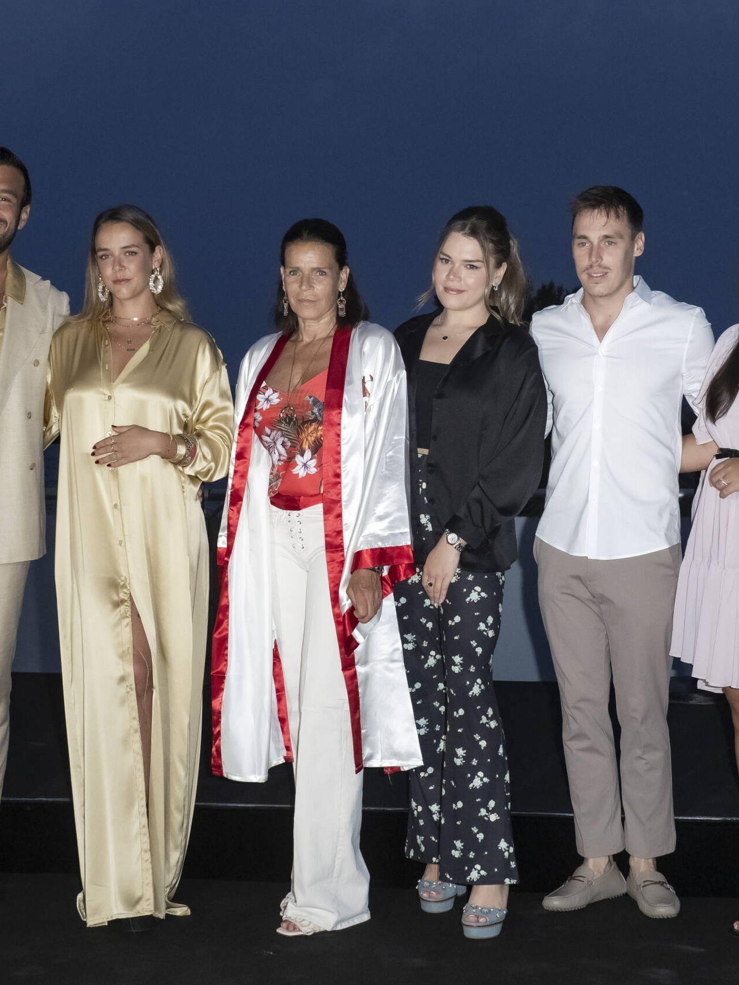 Estefanía de Mónaco, en la Gala Contra el Sida. (Getty)