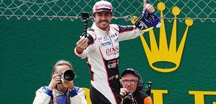 Post de La fortuna ayuda a los audaces: así termina Fernando Alonso otro ciclo de su vida