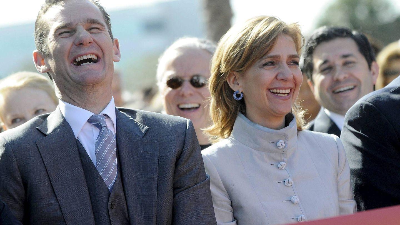 Cristina e Iñaki inaugurando el museo de Florida. (EFE)
