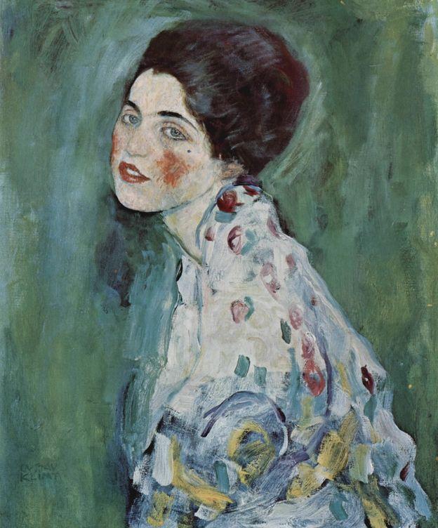 Foto: 'Retrato de una dama', el cuadro de Klimt desaparecido durante un traslado en 1997. Foto: Europa Press
