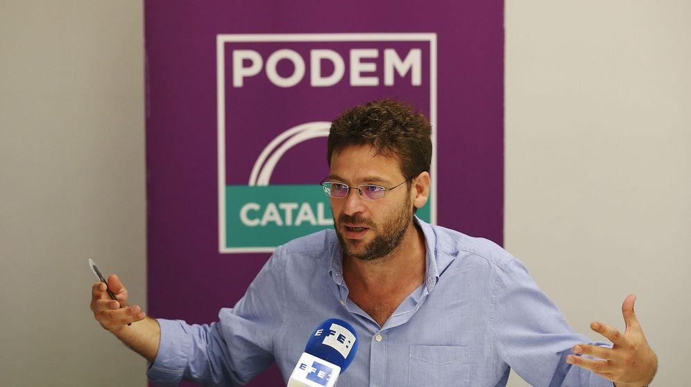 Foto: El secretario general de Podem Catalunya, Albano Dante Fachin. (EFE)