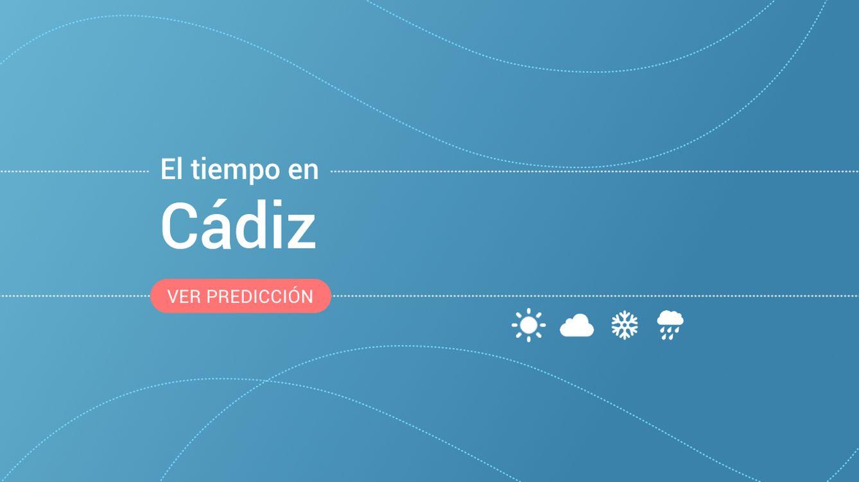 El tiempo en Cádiz: previsión meteorológica de hoy, jueves 14 de noviembre