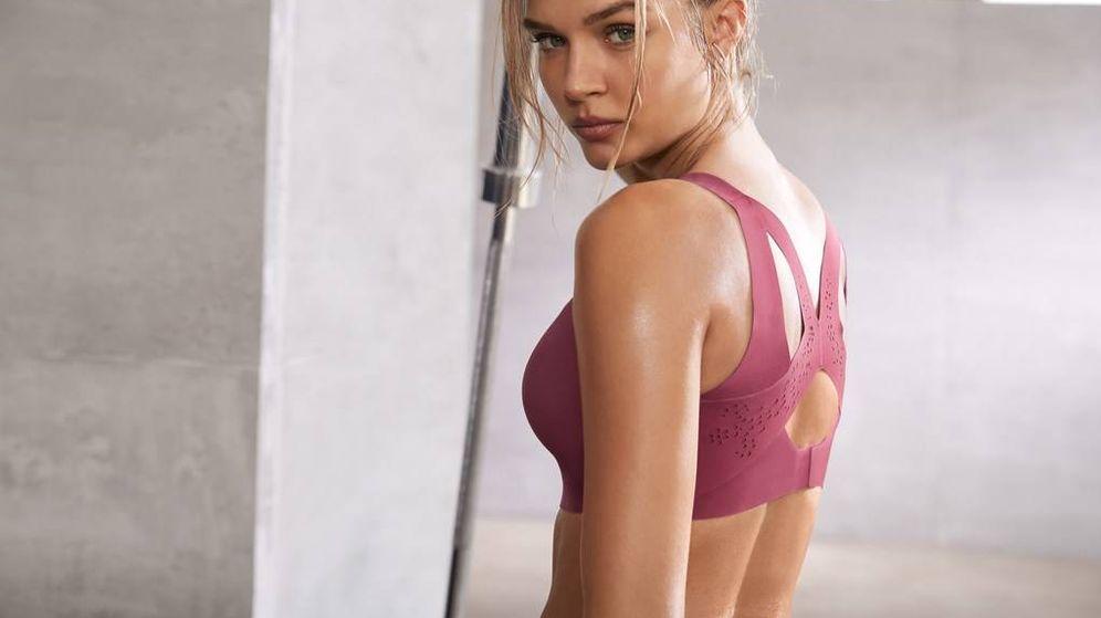 Foto: Foto de una campaña de Victoria's Secret Fitness.