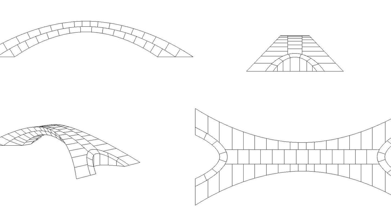 Bocetos del puente de Da Vinci. Foto: MIT