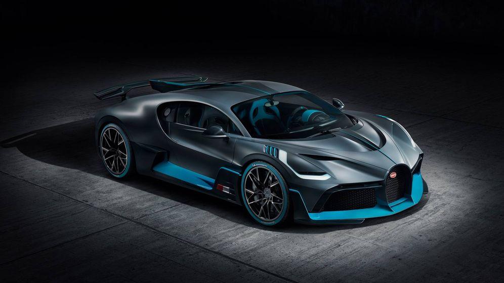 Foto: Bugatti Divo, una de las joyas europeas mostradas California