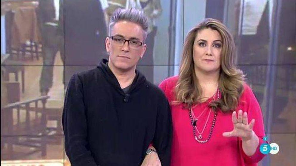 La bronca secreta entre Carlota Corredera y Kiko Hernández