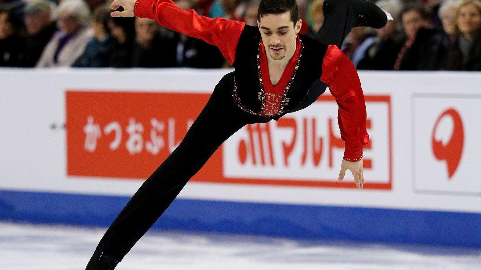 Foto: Javier Fernández, en el Mundial de patinaje artístico disputado en Boston. (EFE)