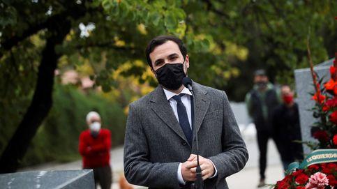 Garzón advierte de que bajar el IVA de las mascarillas no significa que baje el precio