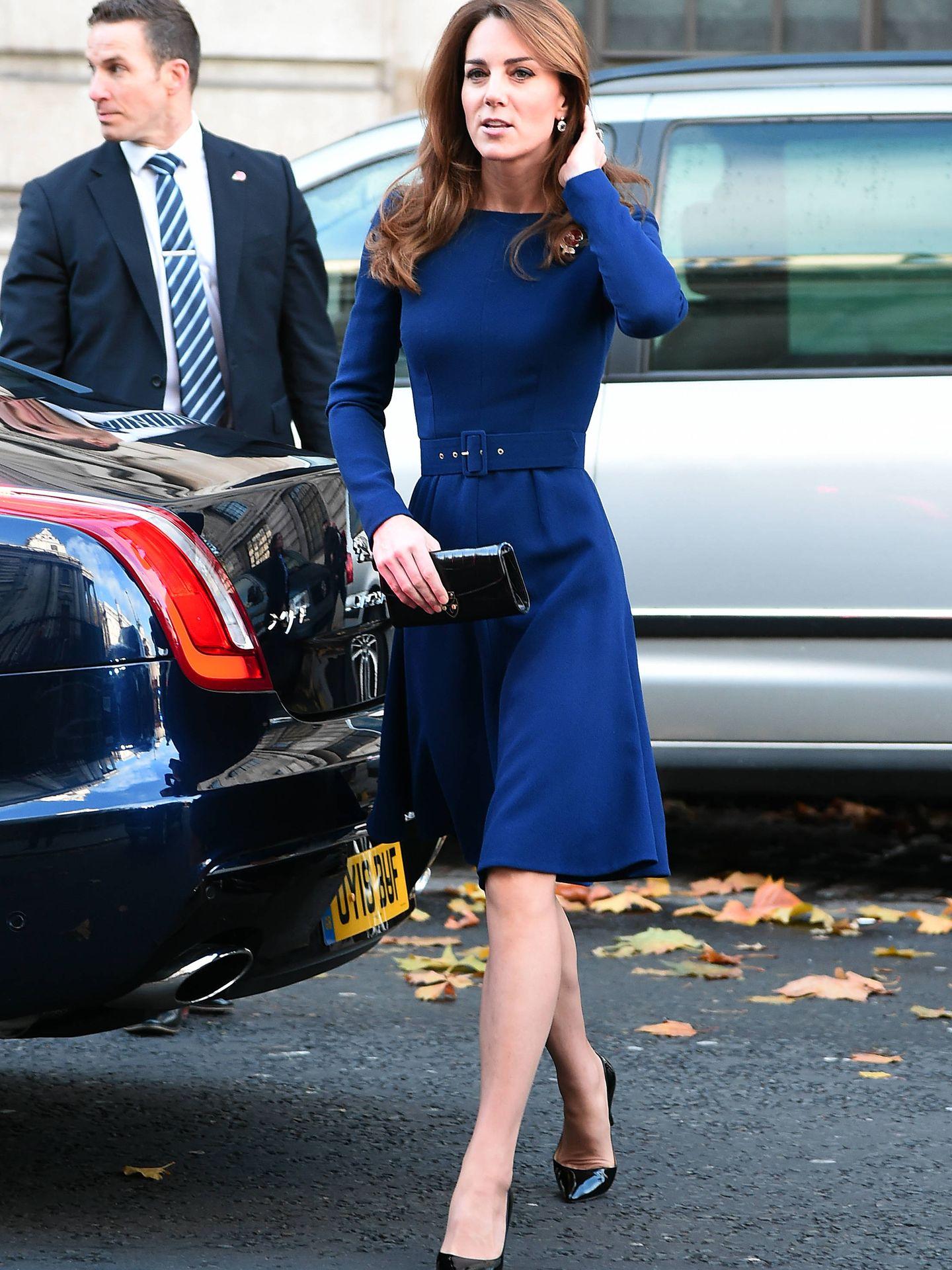 Kate Middleton, de vuelta al trabajo. (Getty)