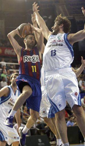El Regal Barcelona se proclama campeón de la fase regular tras ganar al Lagun Aro