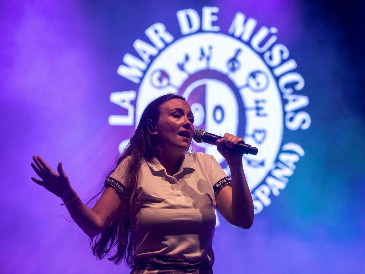 Foto: Rigoberta Bandini en un concierto en Cartagena. (EFE)