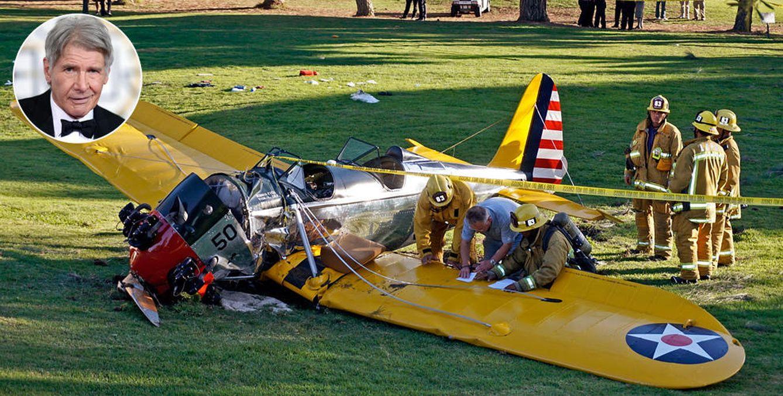 Foto: Las primeras imágenes tras el accidente de Harrison Ford