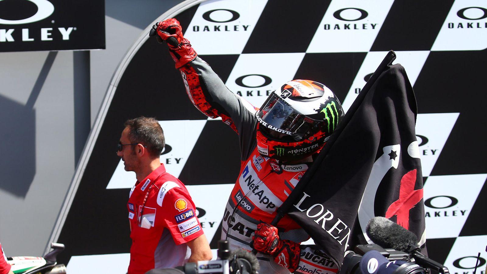 Foto: Jorge Lorenzo, ganador en Mugello. (Reuters)