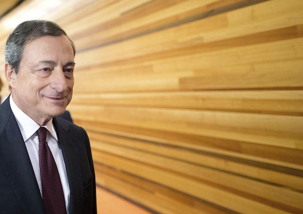Foto: Mario Draghi, presidente del Banco Central Europeo. (Efe)