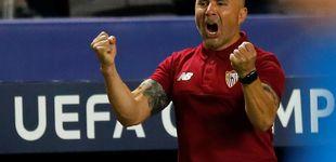 Post de La revolución 'Sampaolillo' sienta al Sevilla junto a Madrid, Barça y Atleti
