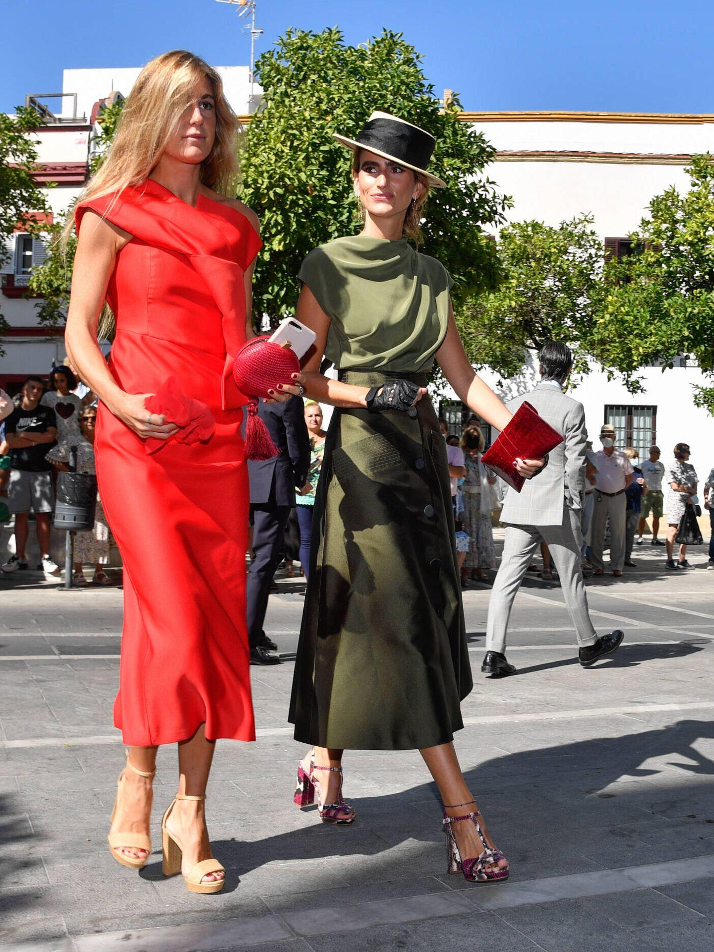Alejandra Domínguez y Victoria Ortiz. (Gtres)