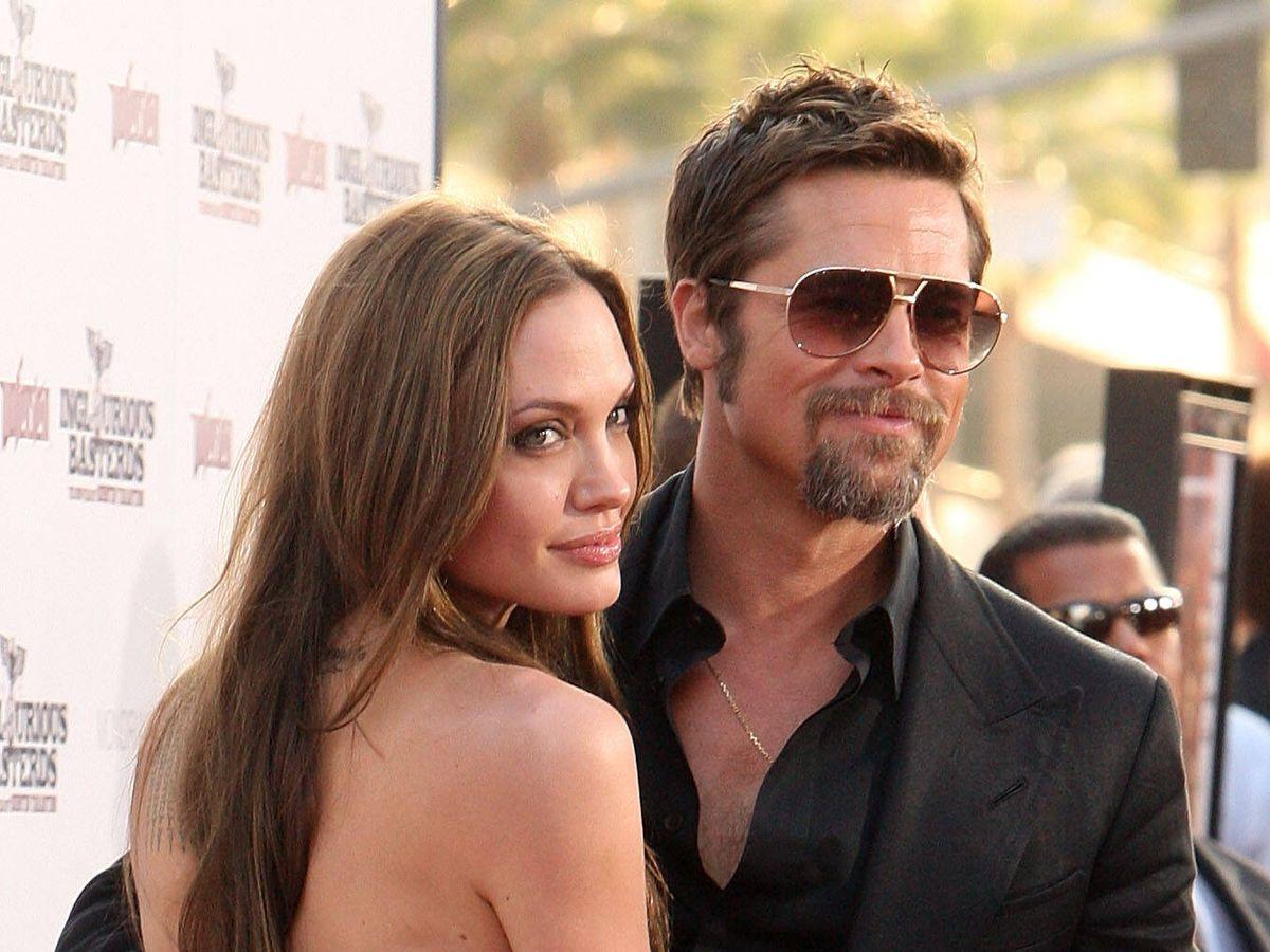 Foto: Angelina Jolie y Brad Pitt, en el estreno de 'Malditos bastardos'. (Getty)