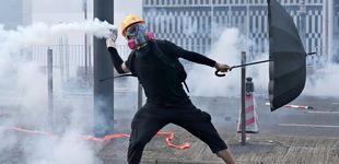 Post de Enfrentamientos en Hong Kong: la policía dispara a un hombre en el pecho