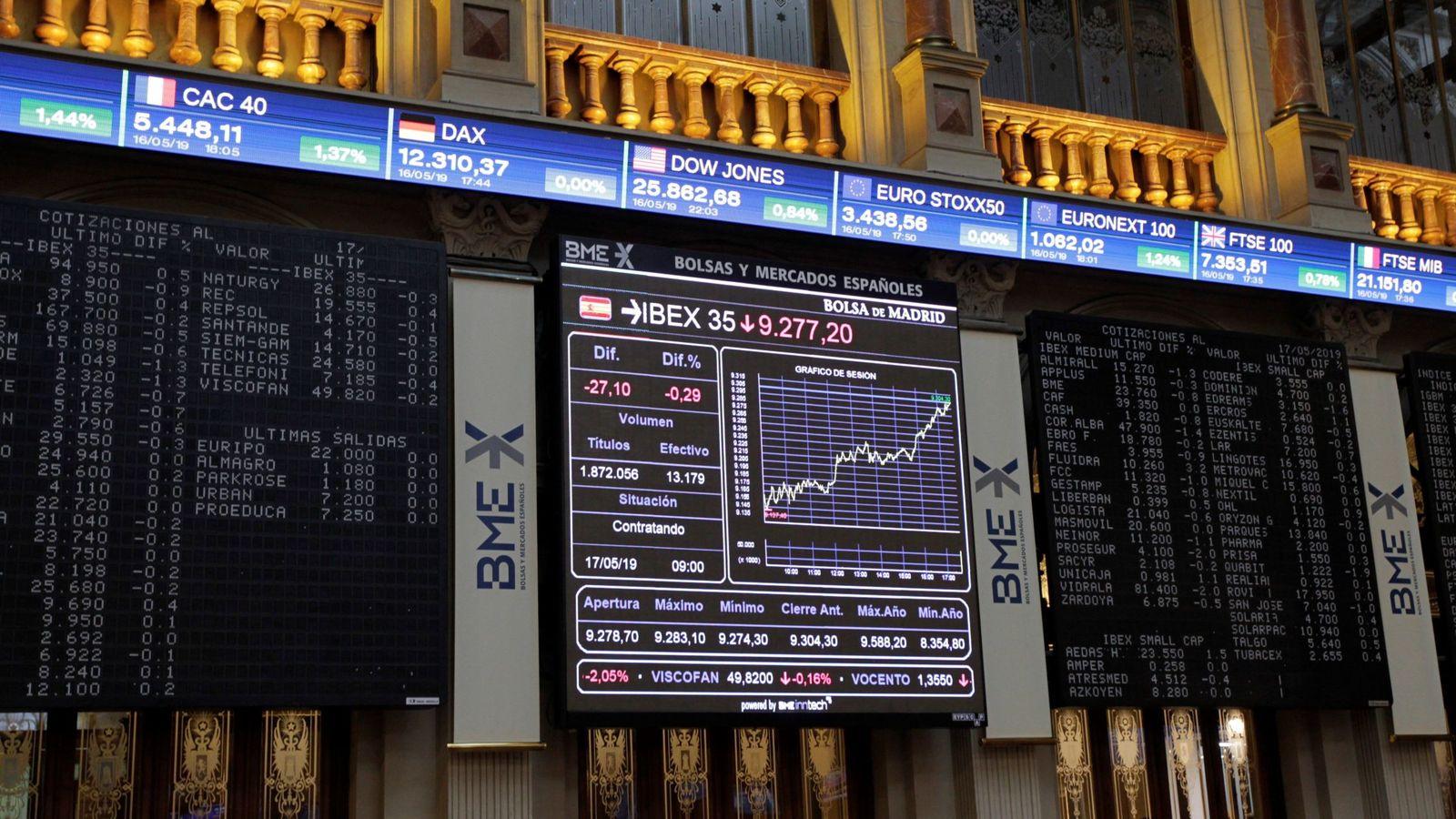 Foto: Ibex 35: un junio agridulce, pendiente de Trump y Xi Jinping