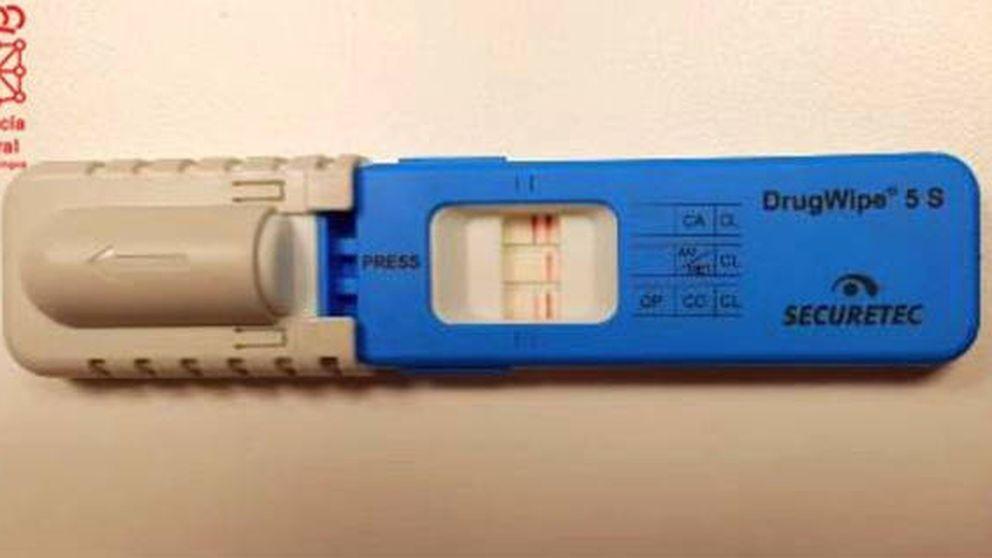 Cazan a un conductor en Navarra que da positivo en todas las drogas posibles