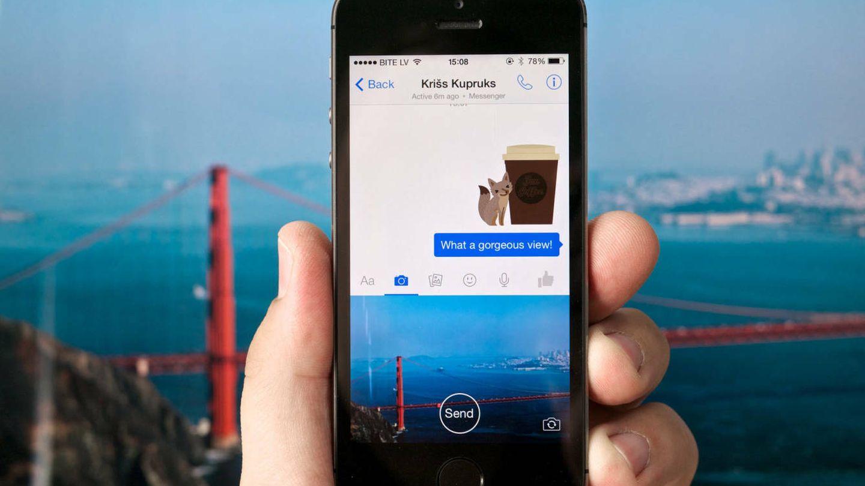 El chat de Facebook Messenger te permite hablar con bots y retar a tus contactos. (Foto: Karlis Dambrans  Flickr)