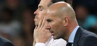 Post de Bale, el primer aliviado tras la fuga de Zinedine Zidane del Real Madrid