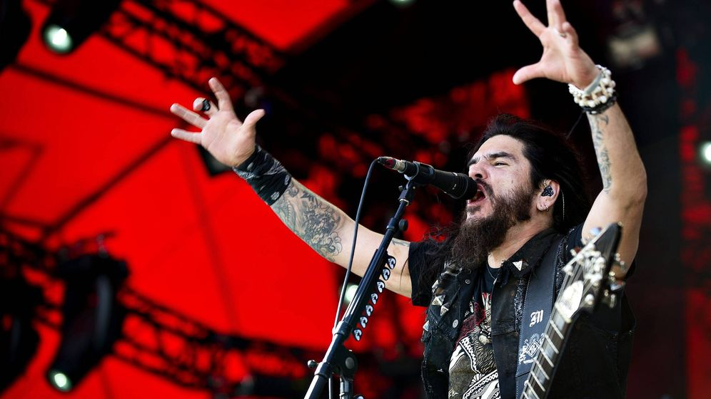 Foto: Robb Flynn, cantante de Machine Head, en una imagen de archivo (EFE/Torkil Adsersen)
