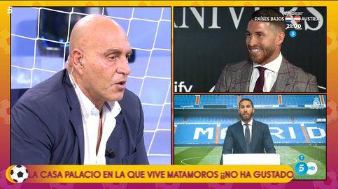 Kiko Matamoros machaca al Real Madrid tras la histórica salida de Sergio Ramos