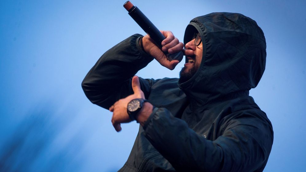 Foto: El rapero Valtonyc se ha fugado del país, donde le condenan por algunas de sus letras | EFE