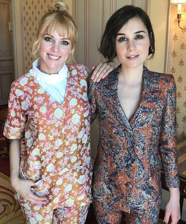 Foto: Maggie Civantos y Nadia de Santiago.