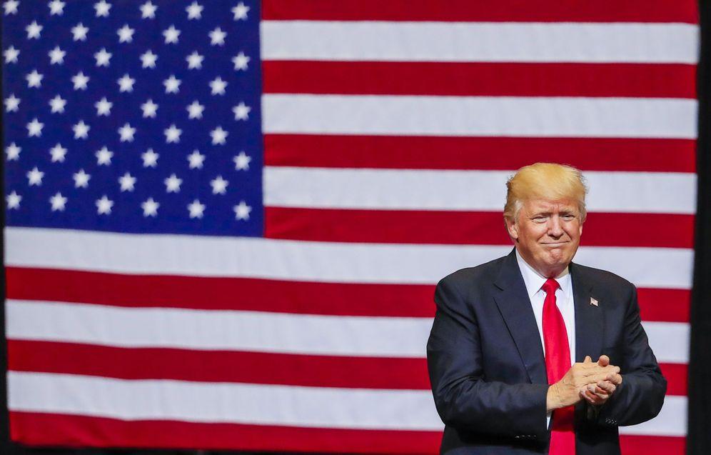 Foto: El presidente de Estados Unidos, Donald Trump, propone un muro solar. (EFE)