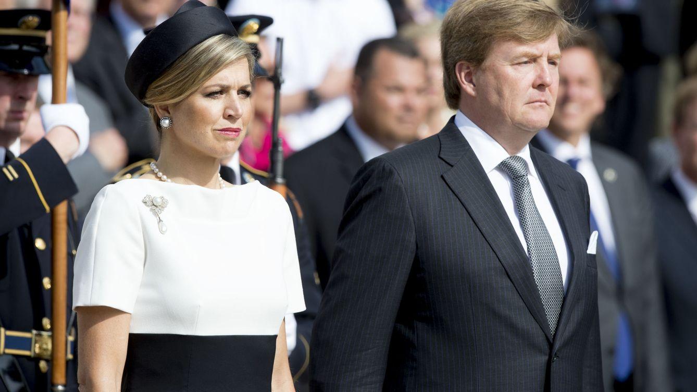 Foto: Máxima de Holanda junto a su marido, el rey Guillermo (Gtres)