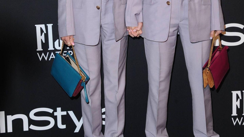 Detalle de los bolsos de Roberts y su estilista. (Cordon Press)