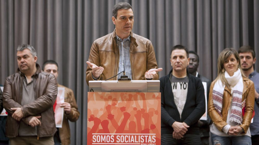 Foto: El ex secretario general del PSOE Pedro Sánchez. (EFE)