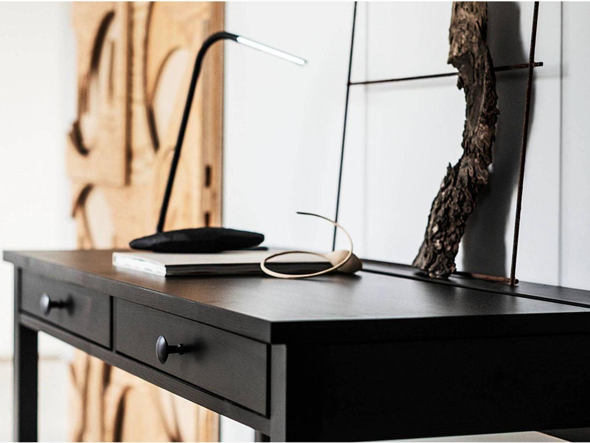 Foto: Elegantes escritorios de trabajo de Ikea. (Cortesía)