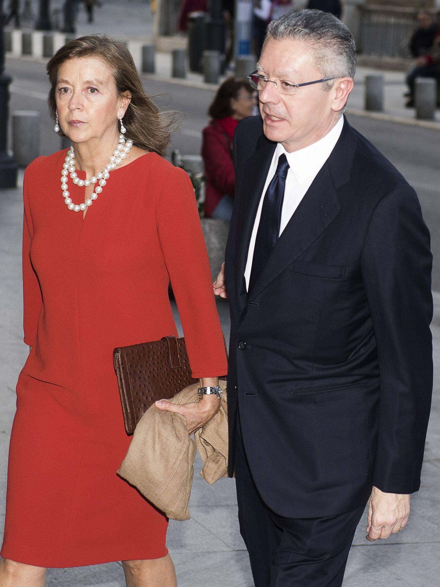 Alberto Ruiz-Gallardón y Mar Utrera. (Cordon Press)
