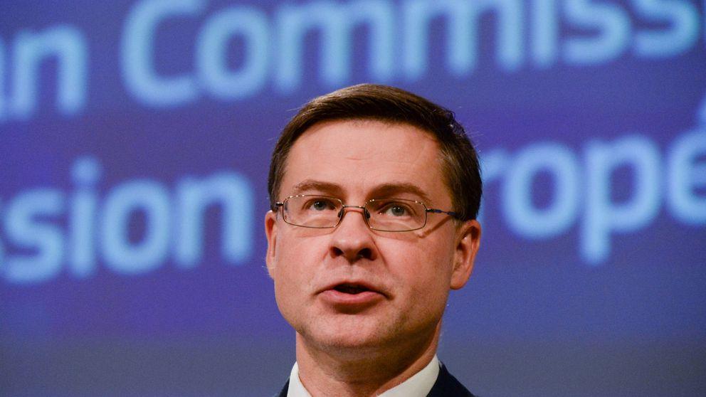 Bruselas estima que el PIB la eurozona se contraerá entre un 5% y un 10% en 2020