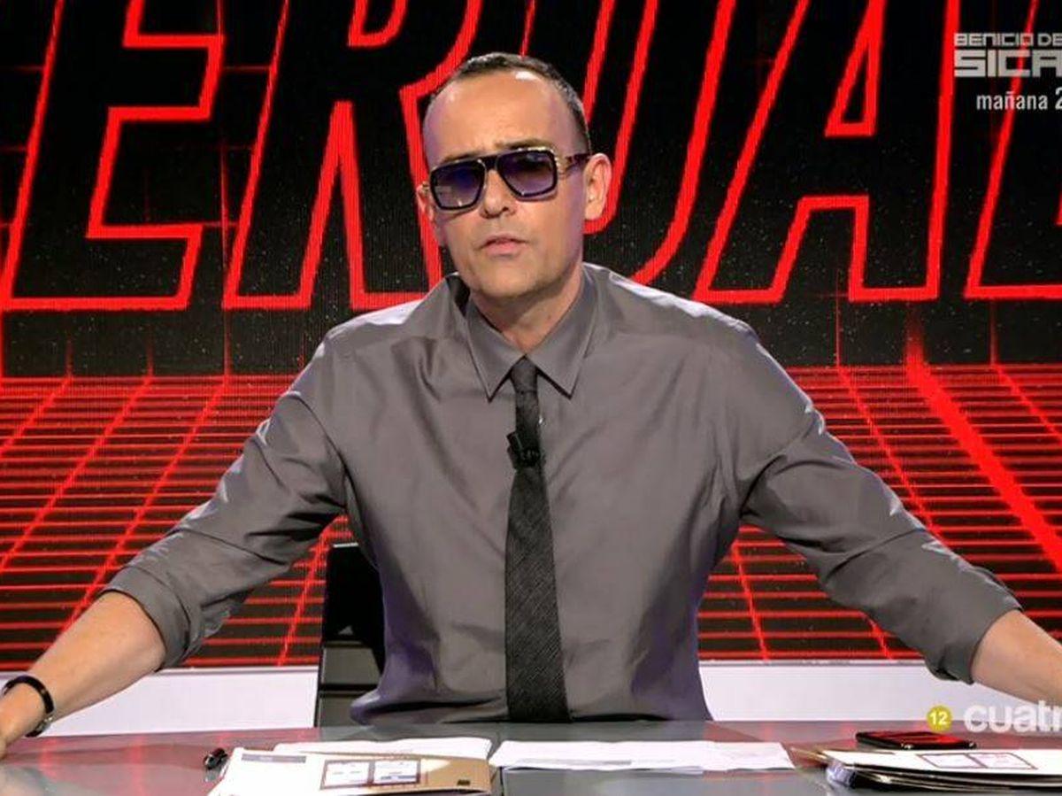 Foto: Risto Mejide, presentador de 'Todo es verdad'. (Mediaset España)