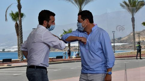 Casado pasa la prueba de covid en Almería de vacaciones y sin suspender agenda