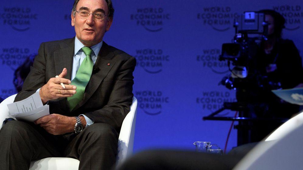 Foto: Ignacio Sánchez Galan, presidente de Iberdrola (efe)