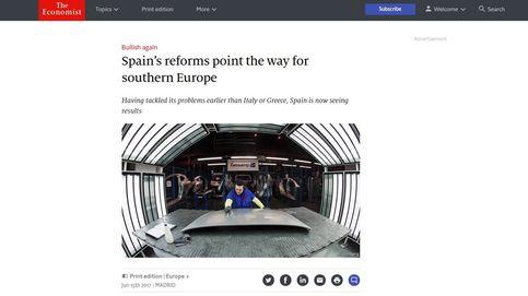 'The Economist' aplaude las reformas de España: Señalan el camino al sur de Europa