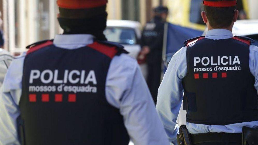 Foto: Agentes de los Mossos y de la Policía Nacional. (EFE)