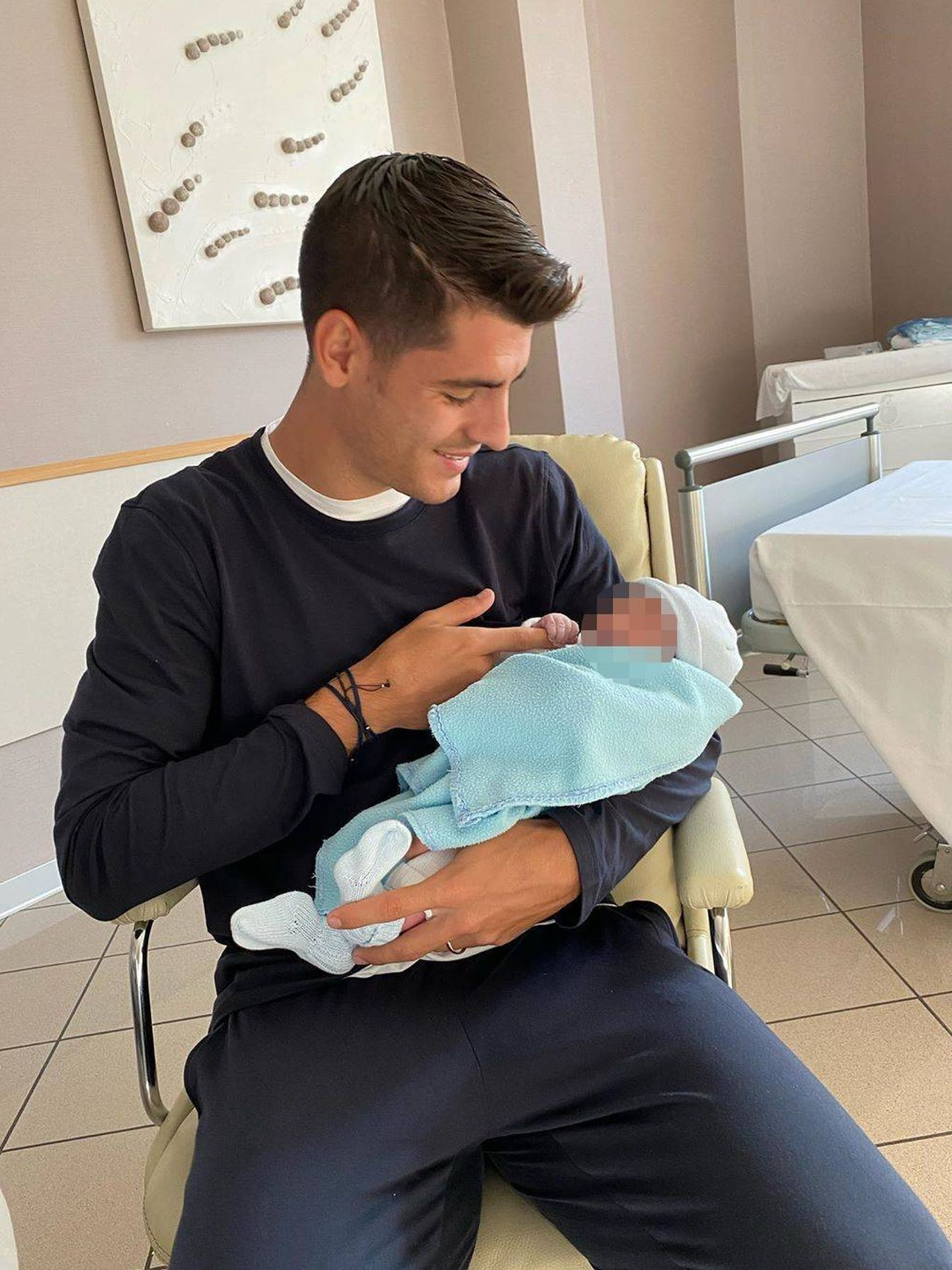 Álvaro Morata y Alice Campello, padres de nuevo. (Instagram @alvaromorata)