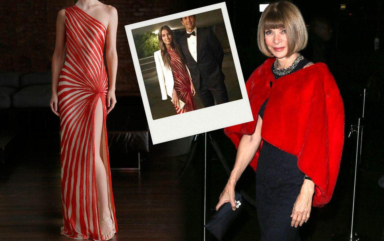 Foto: Ana Boyer brilla ante Anna Wintour con un vestido de 5.000 euros