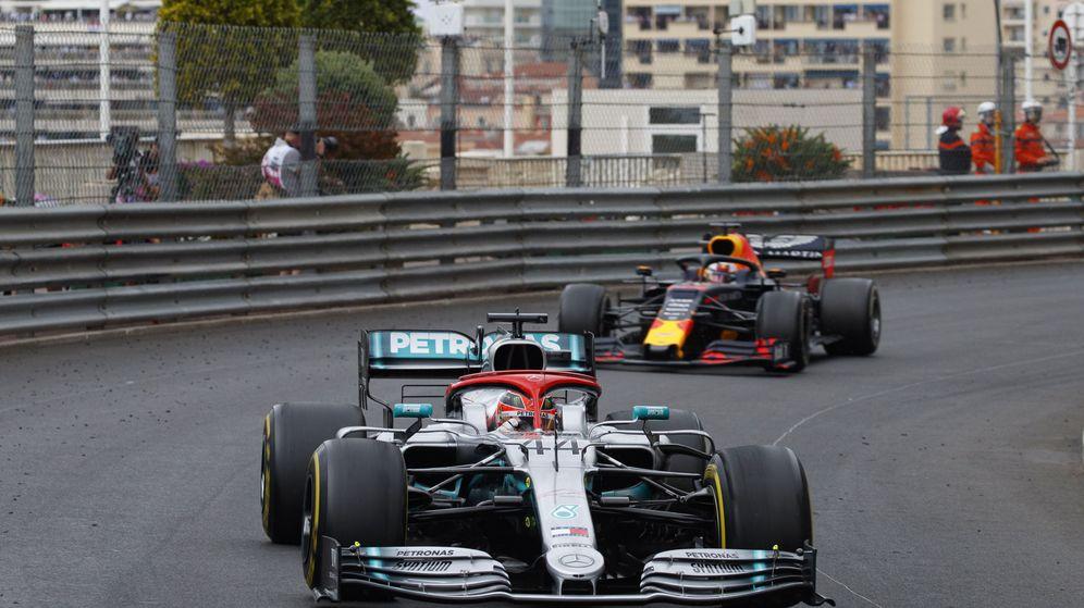Foto: Hamilton sufrió más que nunca en Mónaco. (EFE)